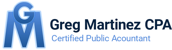 Greg Martinez CPA, Inc. Logo